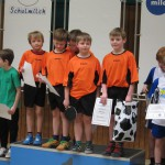 Tischtennis-Cracks der Dudenrothschule in Endrunde des Milchcups 2016