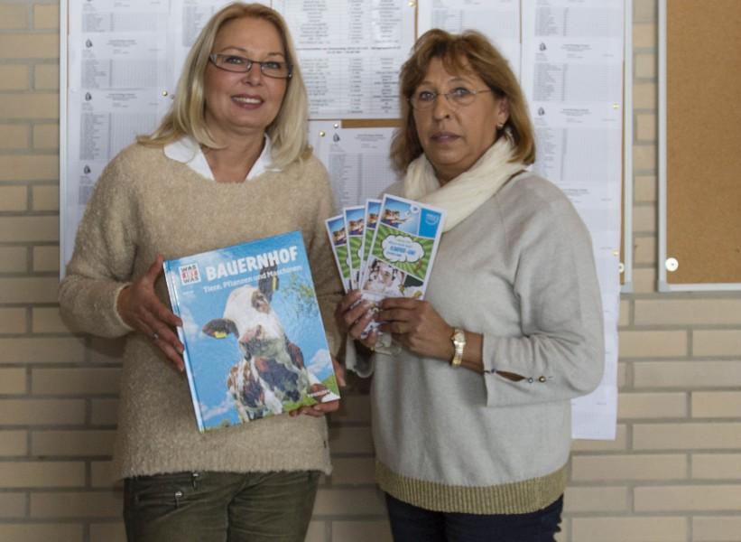 Stellten das Thema der nächsten Kinder-Uni in Holzwickede vor: Martina Bier (l.) und Antje-König-Krämer. (Foto: Peter Gräber)