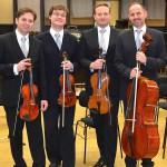 """""""Krieg und Versöhnung"""" mit dem Nodelmann-Quartett im Spiegelsaal"""