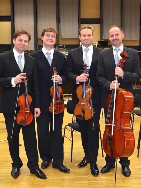 Spielt auf Haus Opherdicke: das Nodelmann-Quartett. (Foto: Münster Klassik)