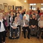 Heinz Seibt (96) ältester Teilnehmer der Geburtstagsnachfeier des Trägervereins