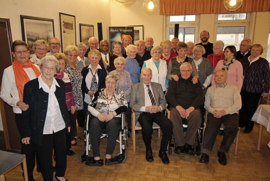 Der Trägerverein Seniorentreff hatte am FReitag (4.3.) wieder zu einer Geburtstagsnachfeier eingeladen. (Foto: Privat)