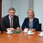 Treffen mit CDU-Abgeordneten: Finanzielle Beteiligung des Bundes Thema