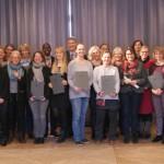 """Glückwünsche vom Landrat: 25 Lehrkräfte qualifizierten sich für """"Go In"""""""