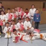 Nachwuchs des Judo Club Holzwickede in guter Form