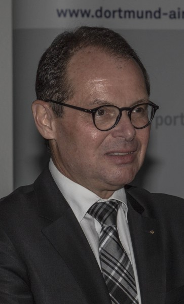 Optimistisch, das Defizit abbauen zu können: Flughafen-Geschäftsführer Udo Mager. (Foto: Peter Gräber)