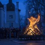 Fünf Osterfeuer lodern im Gemeindegebiet