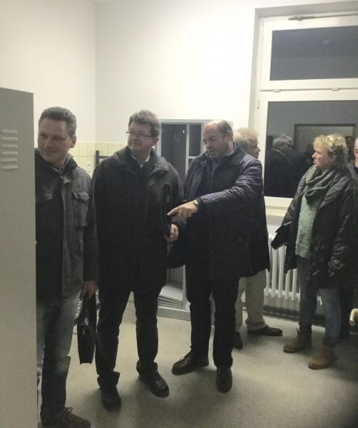 """Die CDU-Fraktion bei ihrem Besuch in der Raketenstation: """"Der Umbau war erfolgreich."""" (Foto: Privat)"""