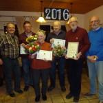 KGV Am Oelpfad ehrt treue Vereinsmitglieder