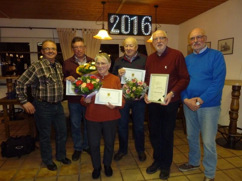 Der Vorstand des KGV A Oelpfad. (Foto: )