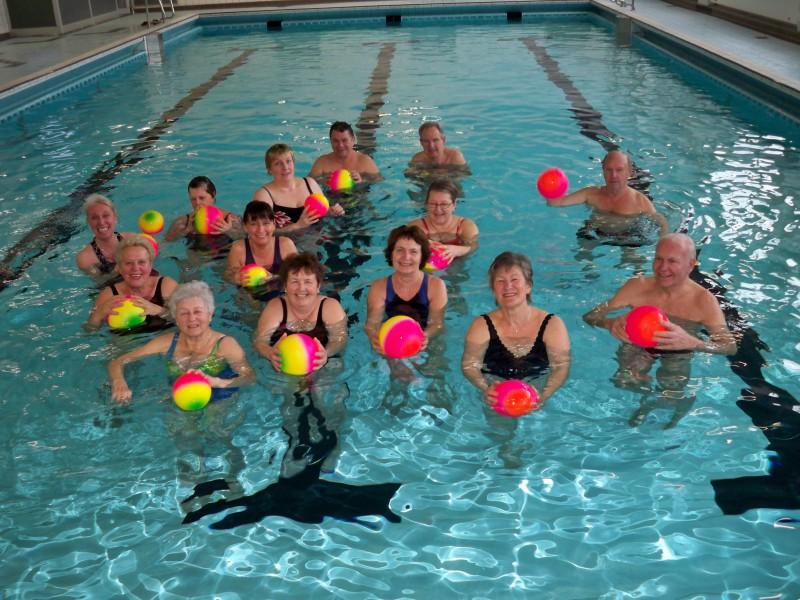 Starke nachfrage: Der HWSC startet nach den Ferien mit einem weiteren Kurs Aquafitness-Gymnastik. (Foto: privat)