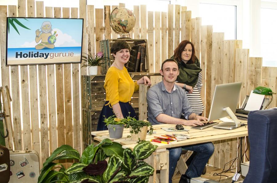 Das Team von Holidayguru Irland in Holzwickede bringt coole Reisedeals auf die Grüne Insel. (Foto: UNIQ)