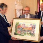 Bürgermeisterin Ulrike Drossel in Louviers: Partnerschaft mit viel Potenzial