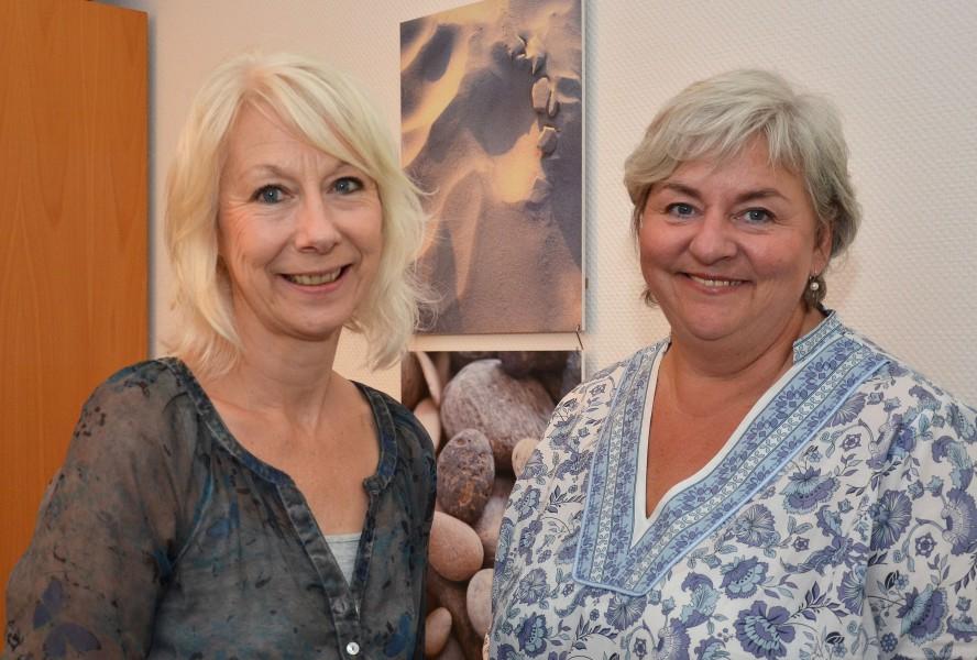 Beraten Frauen in Konfliktlagen: Jutta Damaschke (links) und Jutta Hermann. (Foto: B. Kalle - Kreis Unna)