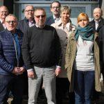 SPD-Abgeordnete besuchen Flüchtlingsunterkunft in der Raketenstation