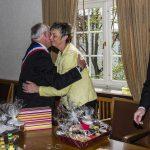 Offizieller Empfang der Gäste aus der Partnerstadt Louviers im Rathaus