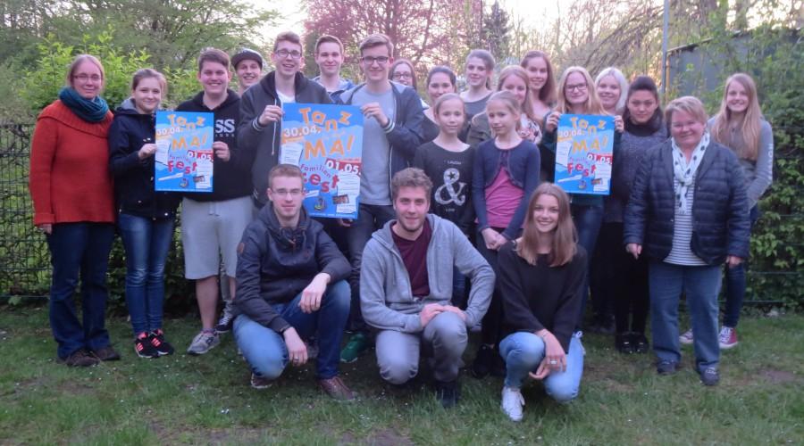 Mitarbeitertreffen der Ev. Jugend: Die Hedlferinnen und Helfer freuens sich auf den Tanz in den Mai und das anschließende Familienfest. (Foto: privat)