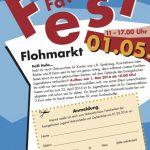 Maifest: Anmeldungen für Flohmarkt ab sofort möglich