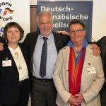 Deutsch-Französische Gesellschaft trifft sich in Duisburg