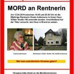 Mord an Rentnerin: Kripo fahndet öffentlich