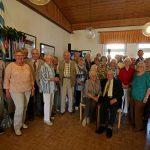 Geburtstagsnachfeier beim Trägerverein im Seniorentreff