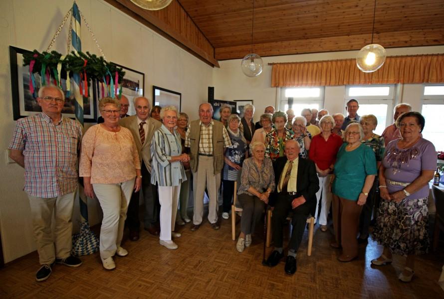 34 Jubilare fanden sich zur Geburtstagsnachfeier des Trägervereins in der Begegnungsstätte ein. (Foto: privat)
