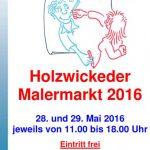 5. Malermarkt eröffnet in der Scheune von Haus Opherdicke