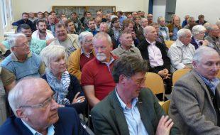 Außereordentlich gut besucht warf die erste Jahreshauptversammlung des HSC nach der Fusion. (Foto: privat)
