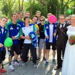 """HSCer gratulieren """"Hochzeiter"""" Marco Hesse"""