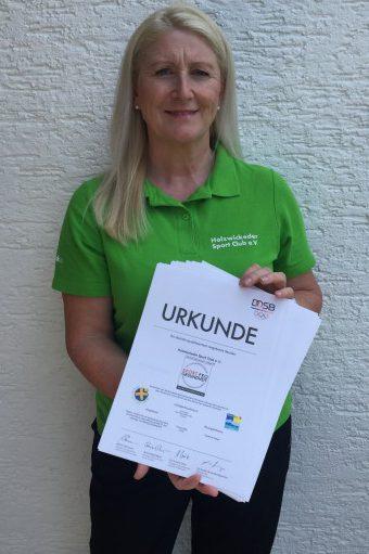 Leiterin HSC-Gesundheitssport: Susanne Werbinsky. Foto: privat)