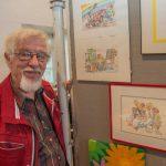 5. Malermarkt in Opherdicke begeistert Besucher und Aussteller