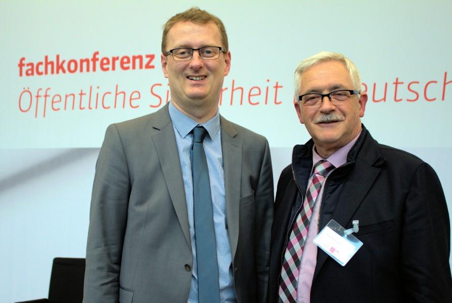 Kreisbrandmeister Peukmann nahm an der Sicherheitskonferenz der SPD-Bundestagsfraktion teil