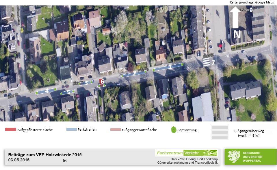Die Maßnahmenvorschläge der Gutachter für die westliche Sölder Straße.