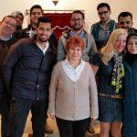 Interkultureller Austausch: Flüchtlinge zu Gast in Synagoge