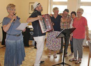 Grillnachmittag des Trägervereins Seniorentreff gut besucht