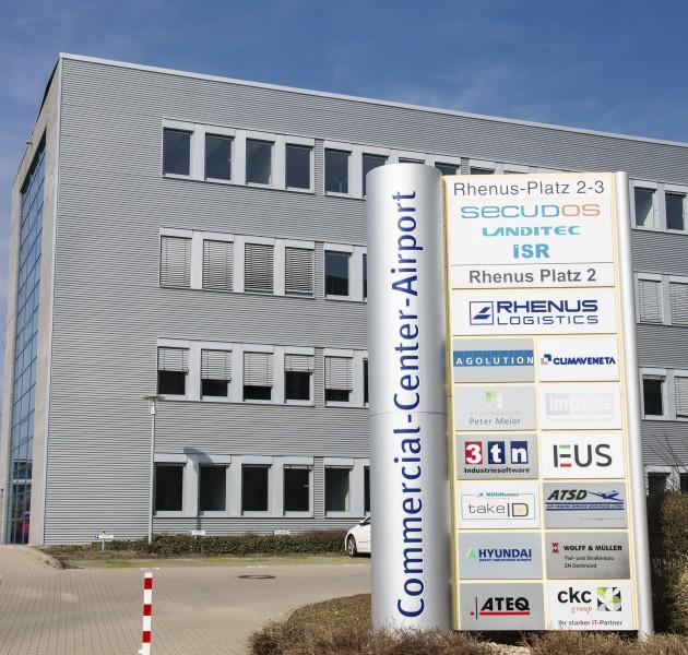 Ab morgen (24. Januar) ziehen Teile der Verwaltung in den Eco Port um. (Foto: P. Gräber - Emscherblog.de)