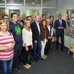"""Wettbewerb """"Kopf gewinnt"""": Ausstellung im Kreishaus eröffnet"""