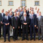 Kreisdirektor Gastgeber: Finanzausschuss des Landkreistages auf Haus Opherdicke