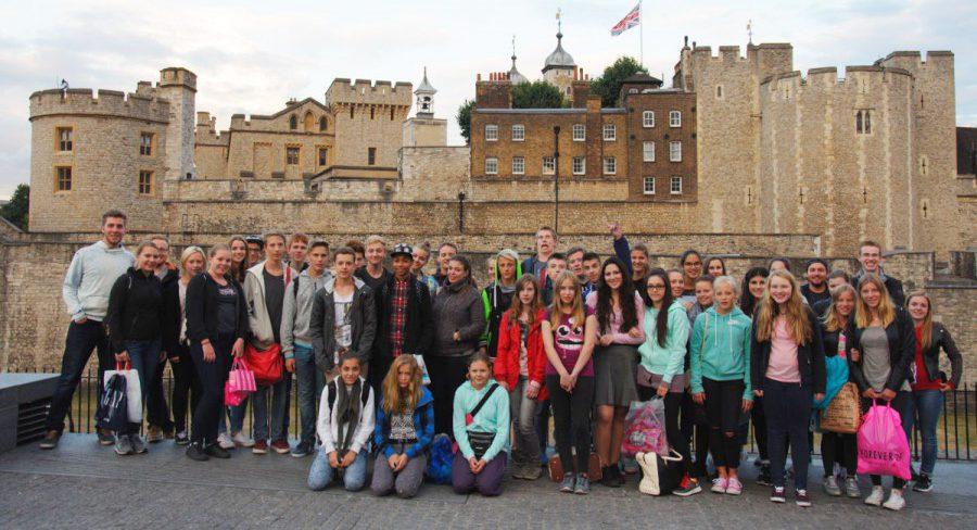 Teilnehmer einer London.Reisegruppe des OJR. (Foto: privat)