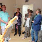 Ein Besuch, der nicht weh tat: CDU-Vorstand beim Zahnarzt