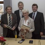 Bundesverdienstkreuz für Irmgard Devrient und Reinhard Wohlgemuth