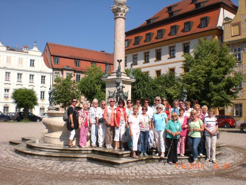 Die Teilnehmerinnen der Reise ins der FU ins Altmühltal. (Foto: privat)