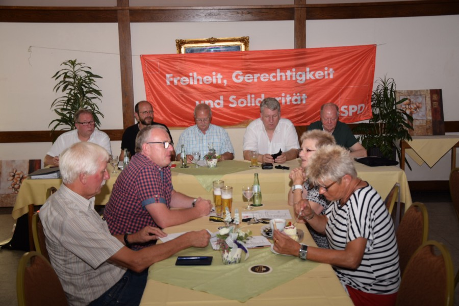Der SPD Ortsverein führte seine Versammlung mit Vorstandswahlen durch (Foto: privat)