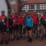 Radsportler des HSC auf Trainingsfahrt nach Bramsche