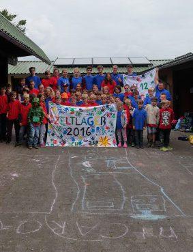 Die Teilnehmer des ndiesjöhrigen Zeltlagers des JCH. Foto: privat)