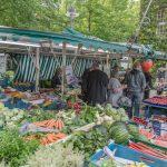 Wochenmarkt zum Festplatz verlegt