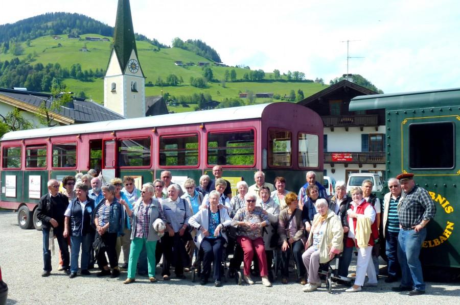 Die Teilnehmer der Reise des HSC-Gesundheitssports  bei ihrer Reise nach Tirol. (Foto: privat)