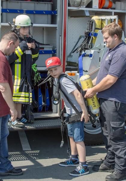 Im Rahmen des neuen Technik-erleben-Projektes steht auch ein Besuch bei der Feuerwehr auf dem Programm des Treffpunktes Villa. (Foto: P. Gräber - Emscherblog.de)
