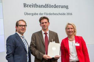 WFG erhält 50.000 Euro für den Breitbandausbau
