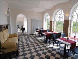 Blick in das Kulturcafé von haus Opherdicke. (Foto: Thomas Kersten - Kreis Unna)